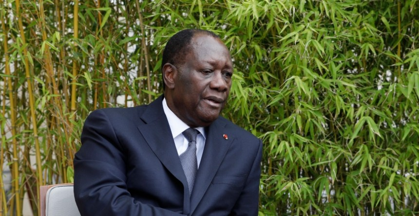 The political decisions of Ivorian president Alassane Ouattara affect investor sentiment. Photo -AP Photo/Kamil Zihnioglu, Pool