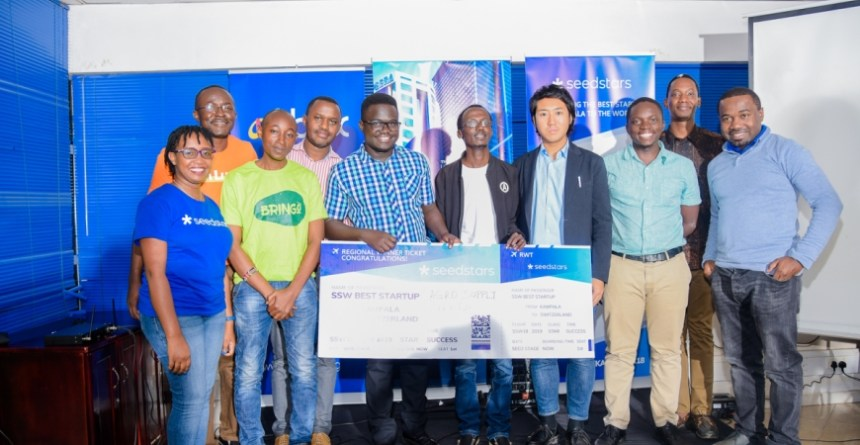 Tech startups enjoyed success at the Seedstars Kampala competition. Photo - Seedstars