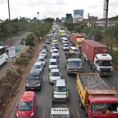 francophone Africa - mobility market - taxi-hailing - ride-hailing services traffic jams