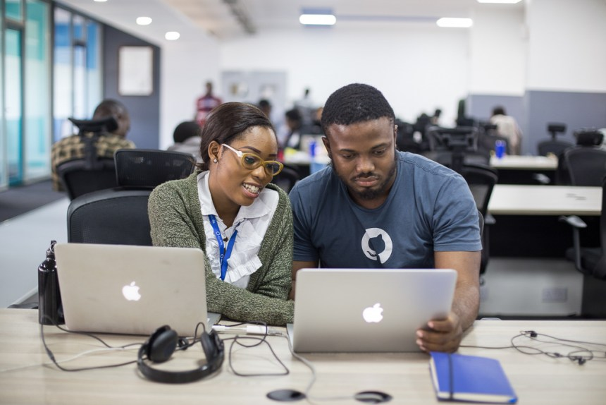 co-working space African tech companies tech ecosystem