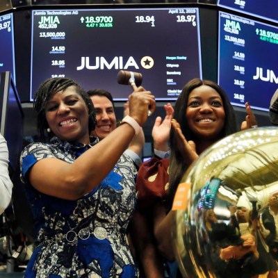 Jumia Jumia's share price