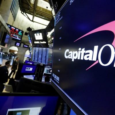 Capital One backer
