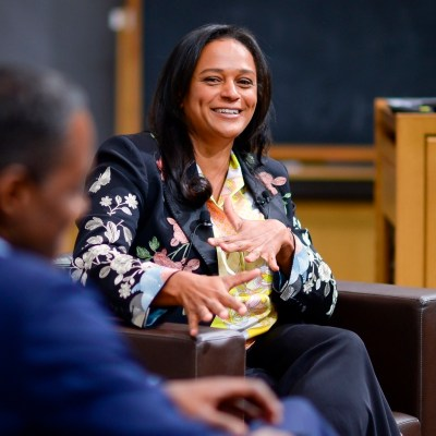 super-rich Isabel dos Santos