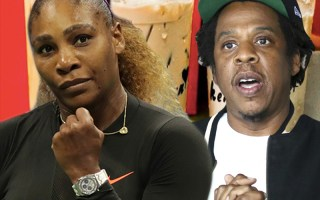 Jay-Z and Serena Williams