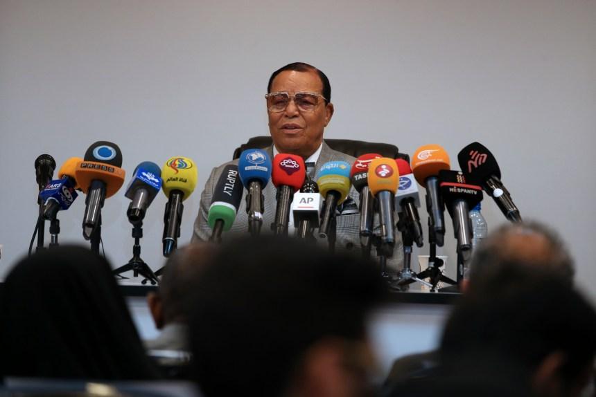 Minister Louis Farrakhan