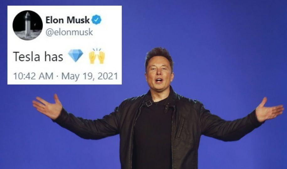 Musk diamond hands