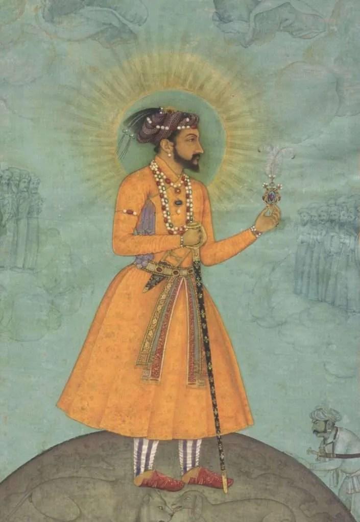 shah jahan portrait