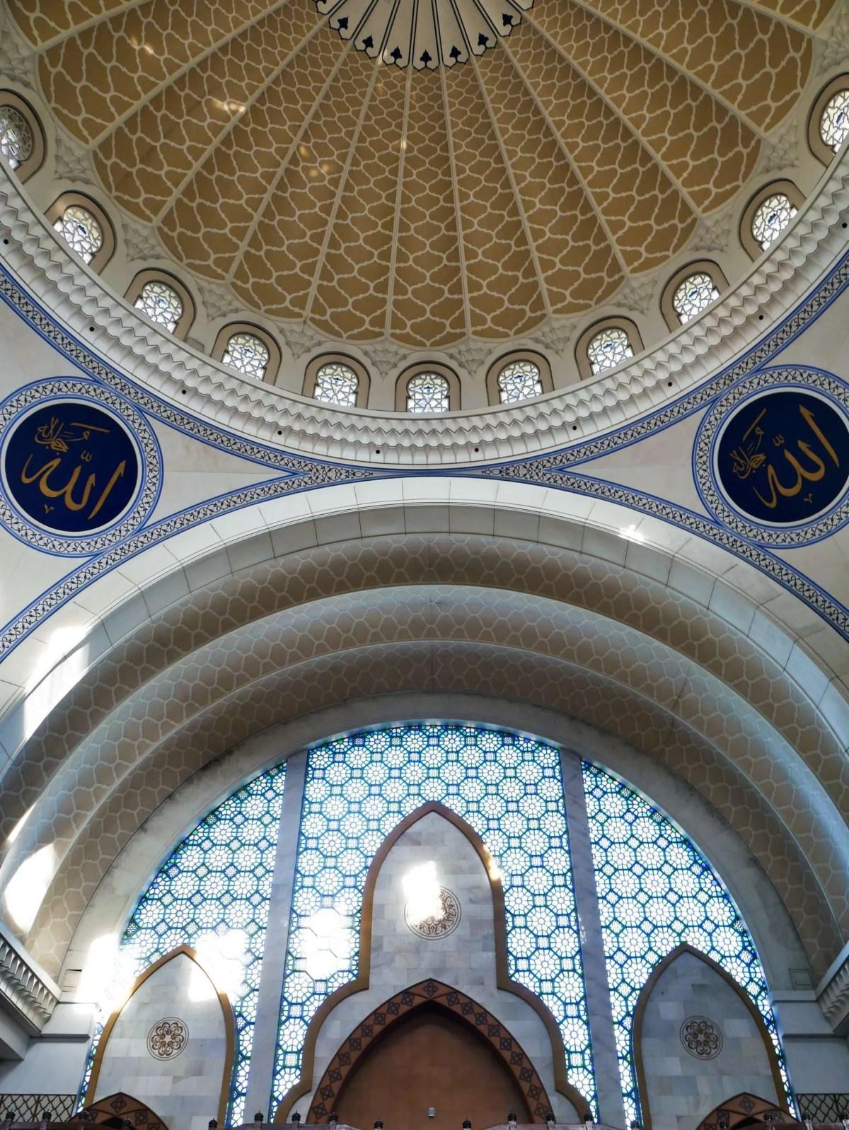 Masjid Wilayah dome