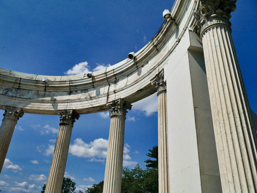 temple of the sky amphitheater Untermyer Gardens