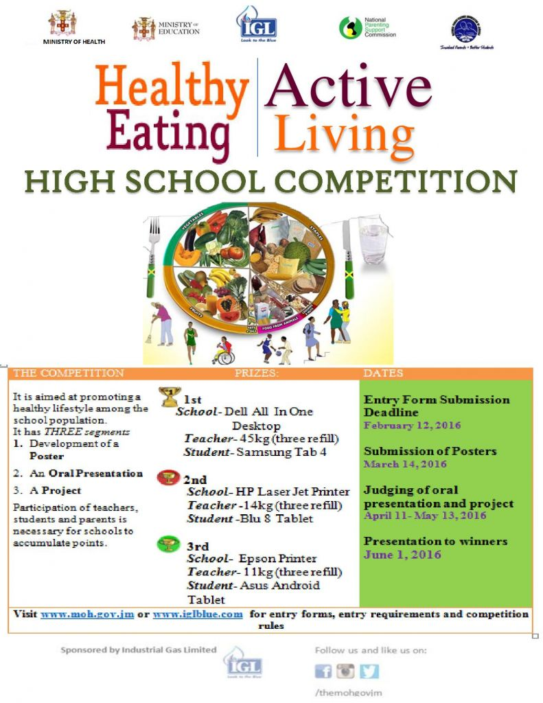 High School Nutrition & Physical Activity Competition