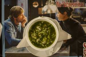 Lemon Coriander seafood soup