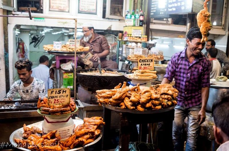 Kebab at Delhi