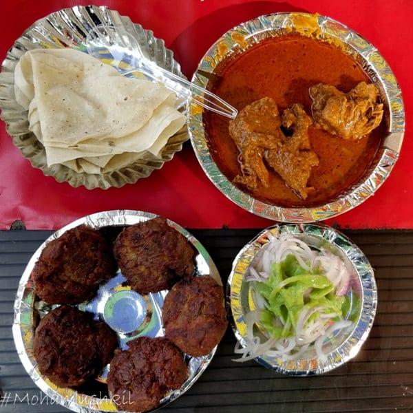 food at Matka peer dargah
