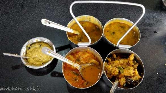 Adhra mess food