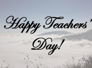 Shoutout To My Teachers & Mentors