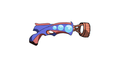 Fig4: Current Design for The Bubble Gun Power-Up