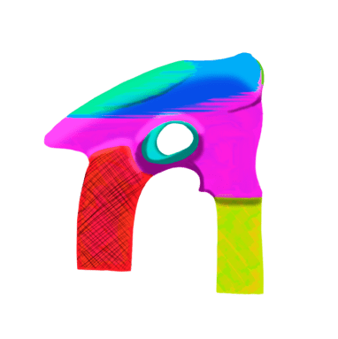 Fig2: 'R' Shaped Bubble Gun Design