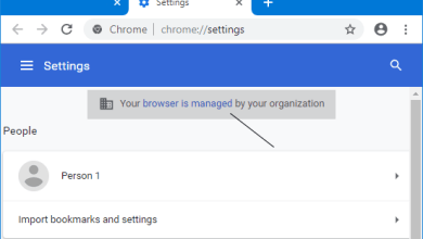Photo of حل مشكله Your browser is managed by an organization – علمنى تيك
