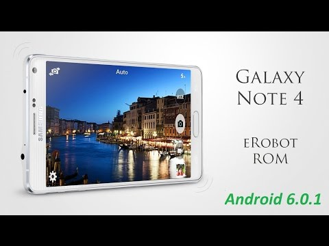 روم Erobot v15.1 بورت Galaxy Note 7 بنظام مارشميلو لهاتف Galaxy Note 4