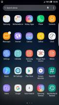 Galaxy S8 apps home