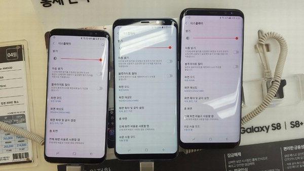 بعض أجهزة Samsung Galaxy S8 تعاني من