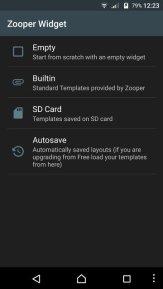 Samsung Galaxy S8 Weather