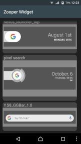 Samsung Galaxy S8 Google Search Bar