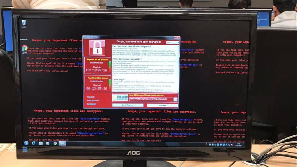 فيروس Ransomware يضرب أكثر من 70 دولة في هجمة Wanna-Cry