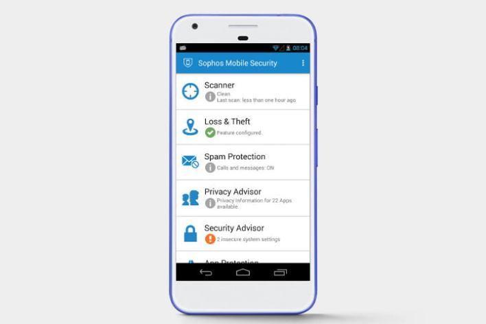تطبيق Sophos 2020 لمكافحة الفيروسات على الاندرويد