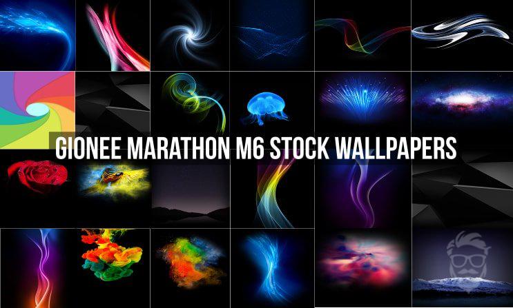 تحميل الخلفيات الرسمية لهاتف Gionee Marathon M6 بدقة Full HD
