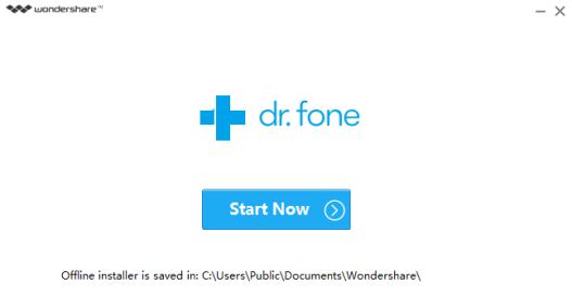 Dr.Fone Installation Mohamedovic