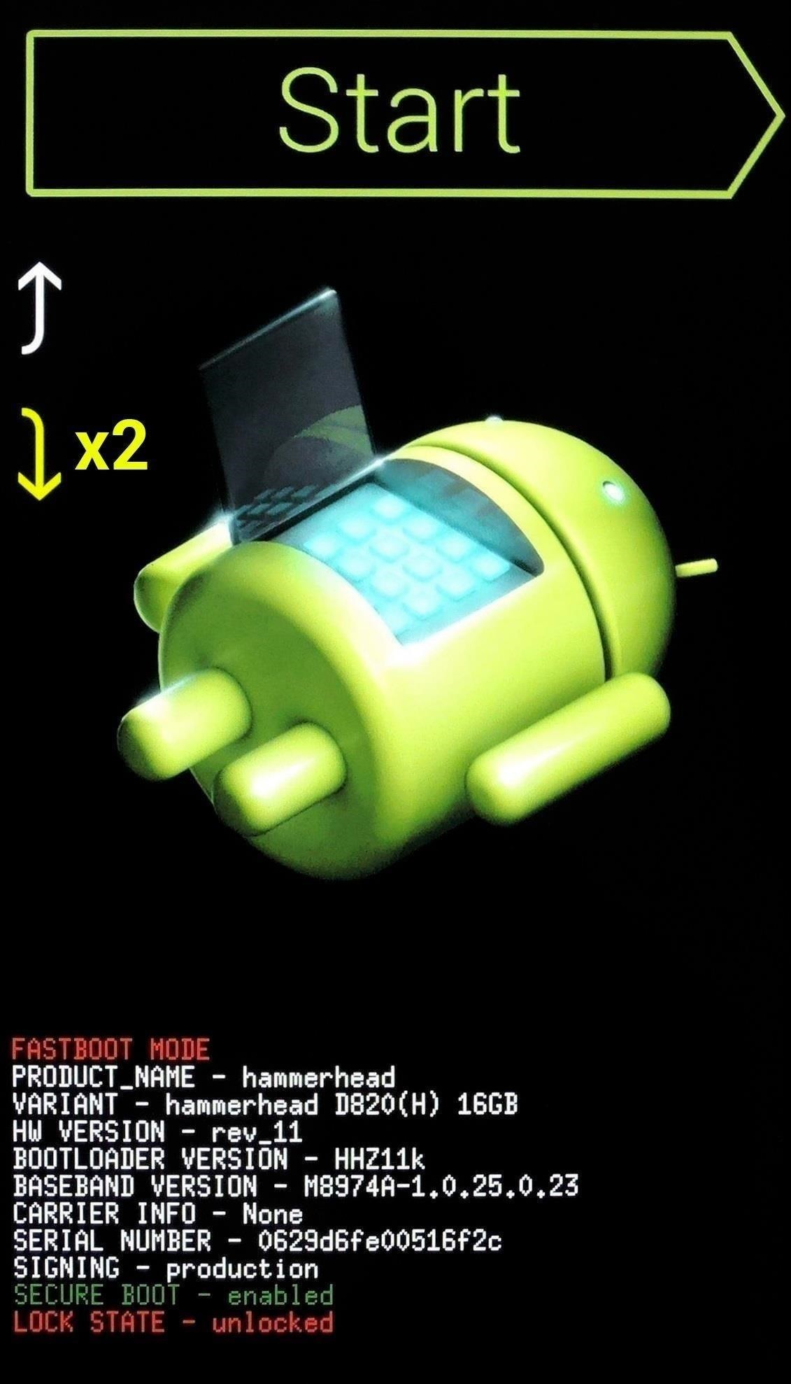 Reset lock screen password by Performing Factory Reset Mohamedovic 01