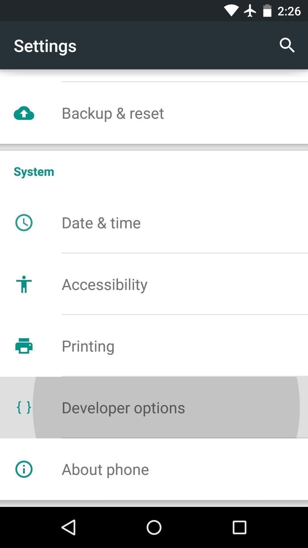 Enable USB Debugging Mode Mohamedovic 01