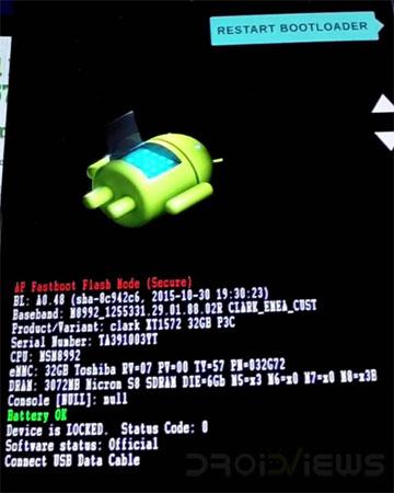 Moto X4 Bootloader Mode Mohamedovic