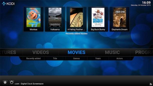 Android Kodi XBMC app Mohamedovic