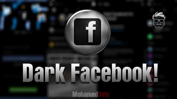 تثبيت الإصدارات السوداء من تطبيقات Facebook & Messenger للأندرويد!