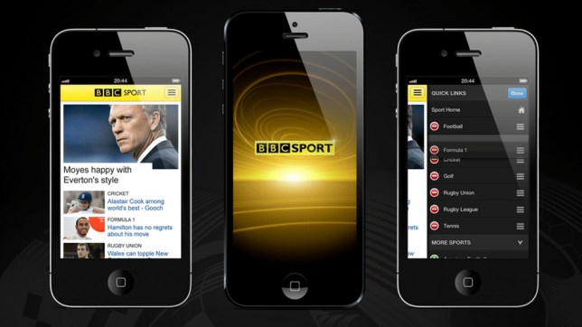 BBC Sport App for Word Cup 2018