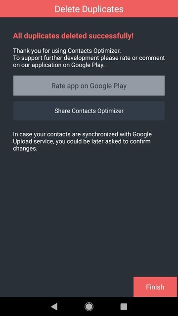 Manage your contacts with Contacts Optimizer Mohamedovic 05
