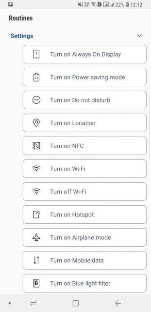 Routines app in Samsung Good Lock 2018 Mohamedovic 02
