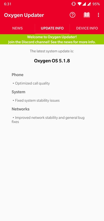 Instant OnePlus Firmware Updates with Oxygen Updater Mohamedovic 05