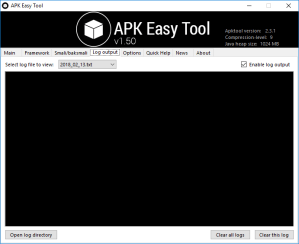 Decompile APK Files using APK Easy Tool Mohamedovic 01