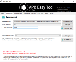 Decompile APK Files using APK Easy Tool Mohamedovic 04