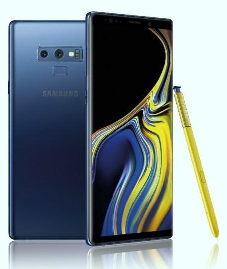 Samsung Galaxy Note 9 1
