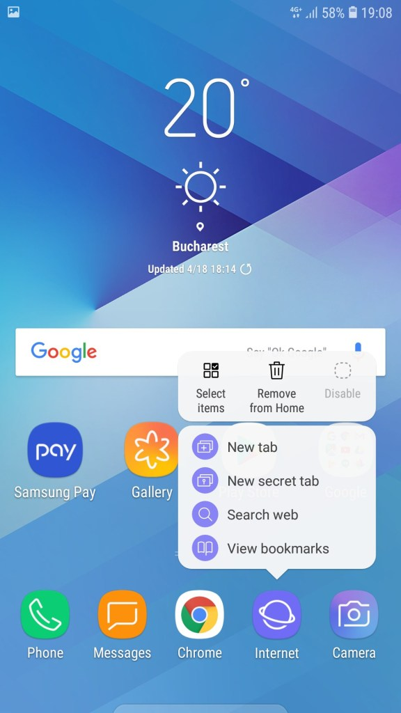 Galaxy J7 2017 J730F Official Android 8 1 Oreo Update 8