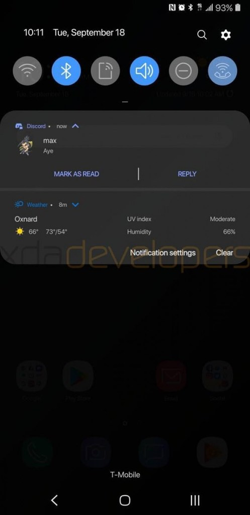 Galaxy S9 Plus Leaked Android Pie Update Mohamedovic 03