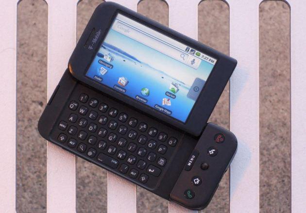 هاتف HTC Dream - الهاتف الأول بنظام أندرويد على الإطلاق