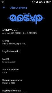 ViperOS Based Android Oreo for Lenovo A6000 Mohamedovic 05