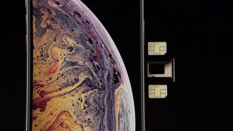 iPhone XS Max with Dual SIM