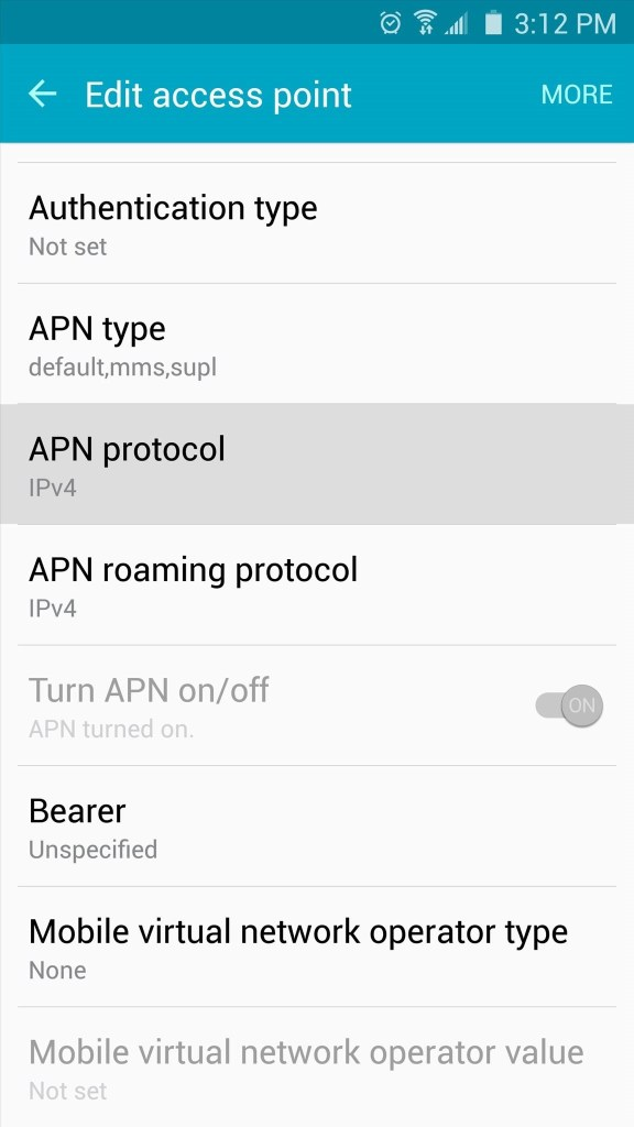 Modify APN Settings to Play on Mobile Data Mohamedovic 05
