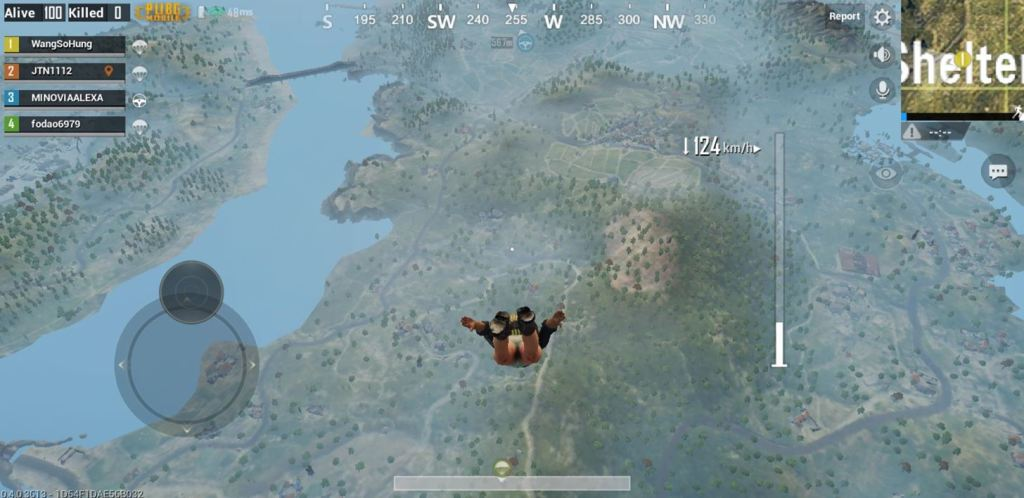 Land Faster in PUBG